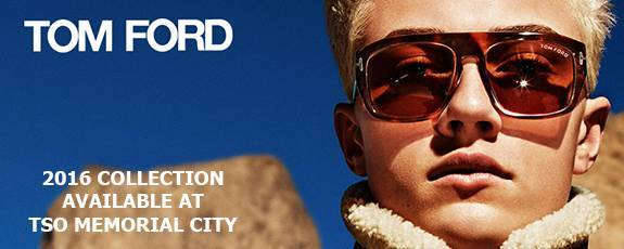 New at TSO Memorial City Tom Ford Eyewear 2016 Collection
